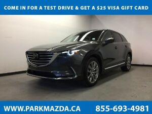 2018 Mazda CX-9 Signature AWD - Bluetooth, NAV, Heated/Leather S
