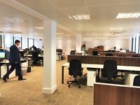6 x Serviced Desk Spaces in newly furbished, sociable office in Moorgate. Available 9th Jan