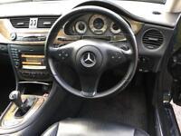 Mercedes CLS320 2009 facelift F1 paddle shift