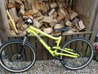 Commencal el cammino s full suspension mountain bike small frame
