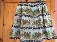 Cath Kidston Vintage print cottages skirt size M (12-14)