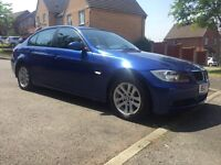 Beautiful blue BMW stunning car first to view will buy