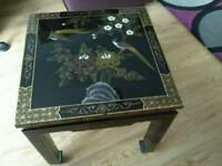 Stunning detailed side table