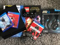 PS4 1TB + Headphones + 4 Games Including Call Of Duty Infinte Warfare
