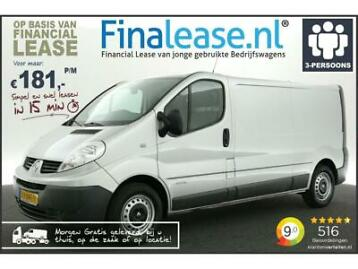Renault Trafic 2.0 dCi T29 L2H1 Airco Cruise Navi €181pm