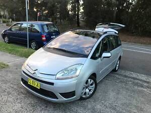 7 Seater TURBO DIESEL 2009 Citroen C4 Picasso D4D Sports Luxury Sutherland Sutherland Area Preview