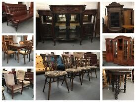 ** SECOND HAND FURNITURE ** ANTIQUE, VINTAGE, NEARLY NEW... **