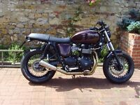Triumph Bonneville 865 2011 one off custom