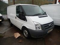 FORD TRANSIT SWB SHORT WHEEL BASE (SWB) 6 SPEED GEAR BOX 2012 12 PLATE FULL SERVICE HISTORY