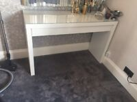 Ikea Malm dressing table in white