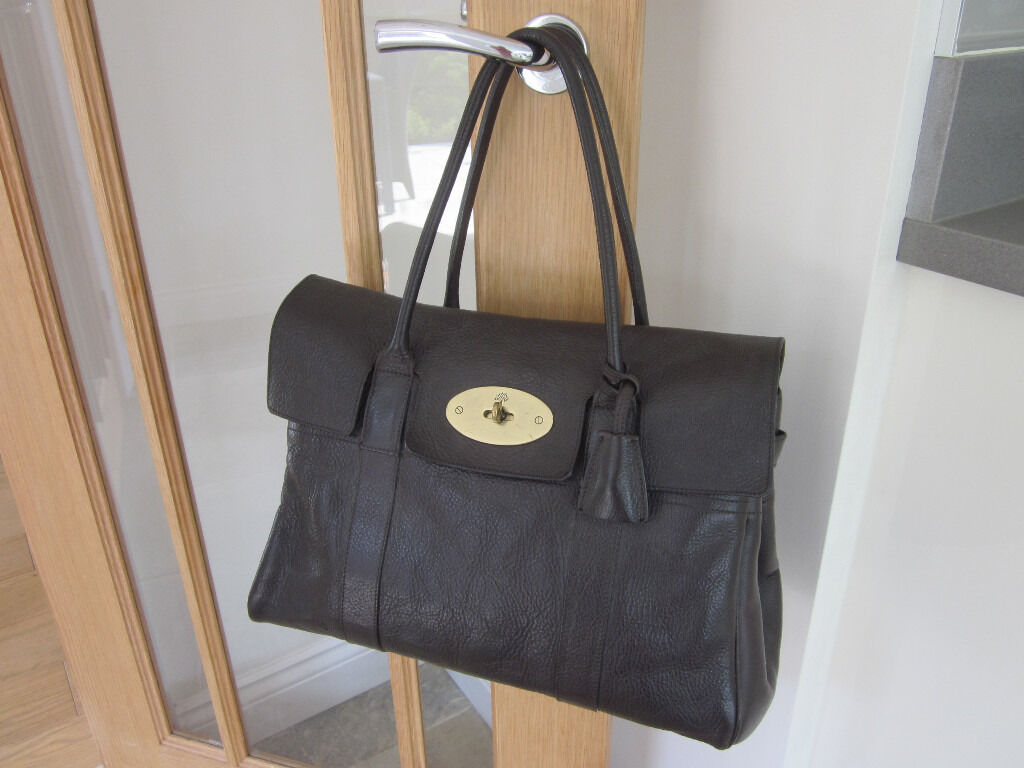 76a305debc usa mulberry mini zipped bayswater in small classic grain club 21 6ff40  cbea6  shopping genuine mulberry bayswater bag dark brown natural vegetable  tanned ...