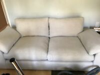 Dunelm 3 seater sofa practically new!