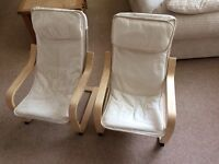 Pair of kids chairs