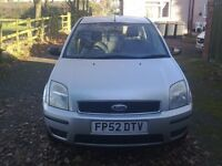2002 Ford Fusion 3 .Five door.1.6.