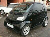SMART FORTWO 450 COUPE 0.7 698CC 2004 BLACK BREAKING PARTS SPARES OR REPAIR DAMAGED SALVAGE