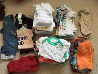 Boys 0-3 clothes bundle