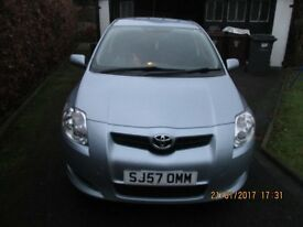 Toyota Auris, Manual, In Good Condition for £2495, 1.6Lt