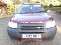 Landrover Freelander 02