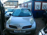 Nissan micra 1000 cc only 59.000 miles one owner from new