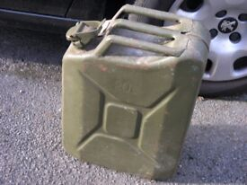 20 Litre Military Stlye Heavy Duty Fuel Can Weymouth