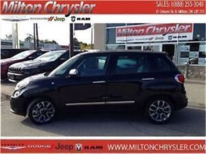 2015 Fiat 500L LOUNGE|LEATHER|NAVIGATION|SUNROOF