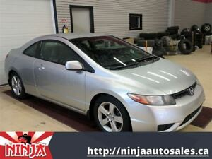 2006 Honda Civic Coupe LX-Safetied Auto Trans And Loaded