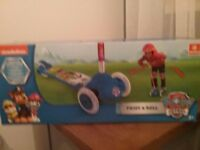 Paw Patrol scooter new