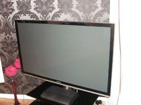 """Panasonic Viera Plasma HD TV - 50"""", 1080p"""