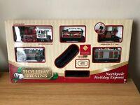 Motorized Northpole Holiday Express & Station Train Set