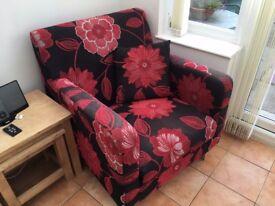 Designer funky armchair