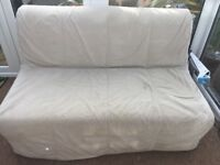 Ikea lycksele sofa bed with cover and storage box