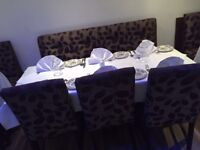 58piece - Set of Tables & Chairs - accommodates 42 people