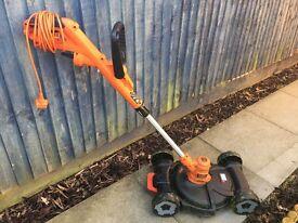 BD Grass Strimmer with Mower Deck Attachment Bundle