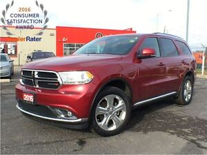2015 Dodge Durango LIMITED**AWD**SUNROOF**LEATHER**DVD**