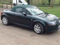 AUDI TT CONVERTIBLE 2005 1.8L PETROL MANUAL PEARLESCENT GREEN...