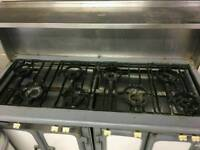Restaurant 8 burner gas cooker