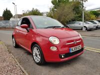 Fiat 500 1.2 Sport 3dr FULL LEATHER TRIM £30 TAX GREAT SPEC PERFECT EXAMPLE ...