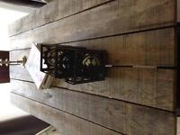 For sale: trestle table industrial look!
