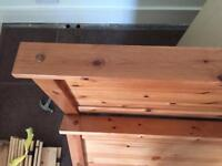 Double Bed frame (Pine)