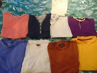 joblot,lot of men's shirts and trousers,very cheap,present, gifts,carboot,size m,bundle
