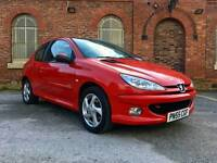 Peugeot 206 Sport 1.6 HDI, Diesel, no problems, cheap to maintain, long mot, low mileage