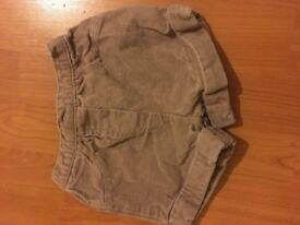 Baby boutique shorts 0-3 months