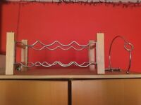Wine rack and pourer