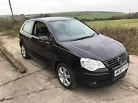 VOLKSWAGEN POLO MATCH 80 1.4 3DR BLACK 2008