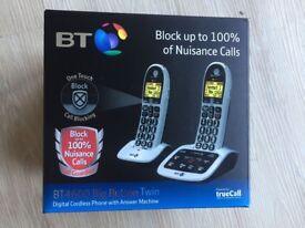 BT 4600 Big Button Digital Cordless Phone - Twin, Answer & Call Blocking