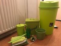 Lovely Green Kitchen Starter Set