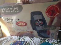 Homedics, shiatsu massager with heat