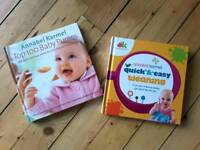 Anna Karmel Weaning Cook books x 2