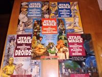 Star Wars Essential Guide Books (X5)