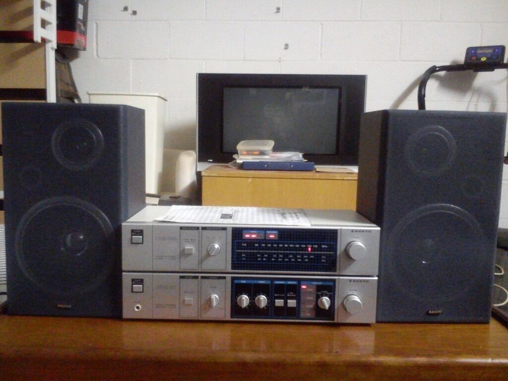 Sanyo amplifier 30 watts per channel and tuner Made in Japanspeakers Sanyo.In very good conditionin Greenwich, LondonGumtree - Sanyo amplifier 30 watts per channel and tuner Made in Japan speakers Sanyo. In very good condition